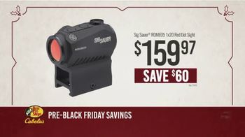 Bass Pro Shops Kickoff Sale TV Spot, 'Red Dot Sight and Tactical Hunter'