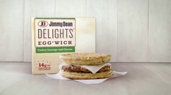 Jimmy Dean Delights Egg'Wich TV Spot, 'Brand New Morning'