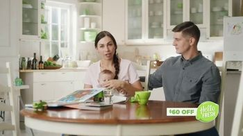HelloFresh TV Spot, 'Haines Family: $60 Off'