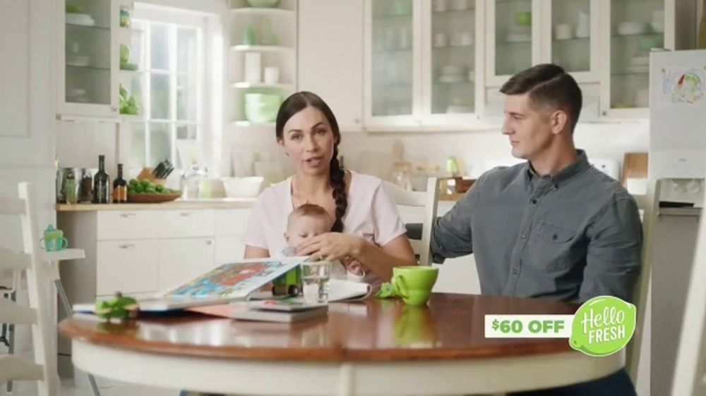 HelloFresh TV Commercial, 'Haines Family: $60 Off'