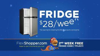 FlexShopper TV Spot, 'Holidays: Fridge and Dining Table'