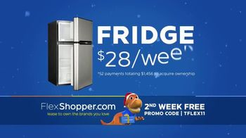 FlexShopper TV Spot, '2018 Holidays: Fridge and Dining Table'
