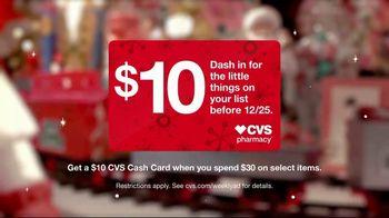 CVS Pharmacy TV Spot, 'Holidays: Every Little Thing: $10 Cash Card' - Thumbnail 10