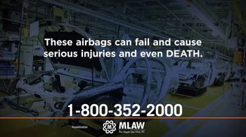 Meyer Law Firm TV Spot, 'GM Airbag Defect'
