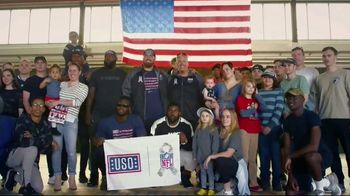 NFL TV Spot, 'Salute to Service: 2018 USO Tour' Featuring Ben Garland - 2 commercial airings