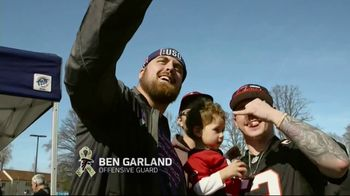 NFL TV Spot, 'Salute to Service: 2018 USO Tour' Featuring Ben Garland - Thumbnail 2