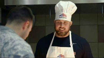 NFL TV Spot, 'Salute to Service: 2018 USO Tour' Featuring Ben Garland - Thumbnail 4