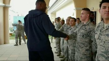 NFL TV Spot, 'Salute to Service: 2018 USO Tour' Featuring Ben Garland - Thumbnail 6