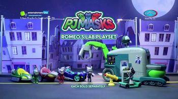 PJ Masks Romeo's Lab Playset TV Spot, 'Ready to Rule the Night' - Thumbnail 8