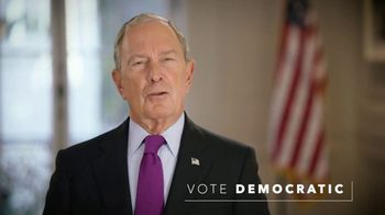Independence USA PAC TV Spot, 'Vote Democratic' Featuring Michael Bloomberg - 13 commercial airings