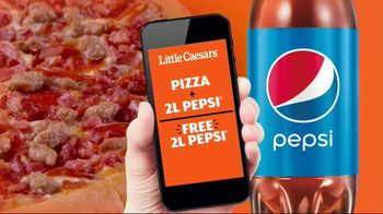 Little Caesars Pizza TV Spot, 'Pizza and a Two-Liter'