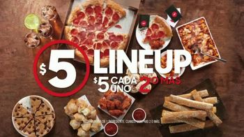 Pizza Hut $5 Lineup TV Spot, 'Cuando la vida te pide pizza' [Spanish] - Thumbnail 4