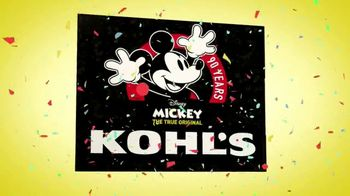 Kohl's TV Spot, 'Disney's Mickey Mouse 90th Anniversary' - Thumbnail 8