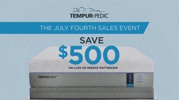 Tempur-Pedic July Fourth Sales Event TV Spot, 'Head-Clearing Sleep' - Thumbnail 2