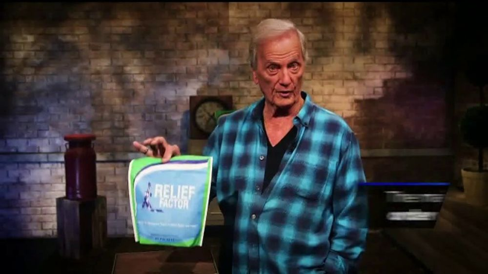 Relief Factor TV Commercial, 'Pain Free' Featuring Pat Boone
