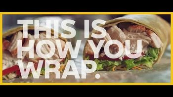 Subway Savory Rotisserie-Style Chicken Caesar Wrap TV Spot, 'Packed'
