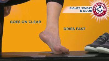 Arm & Hammer Foot Care Invisible Spray Foot Powder TV Spot, 'No Mess'