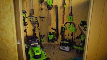 GreenWorks Pro 60V 10-Inch 9-Foot Pole Saw TV Spot, 'Ever-Evolving' - Thumbnail 1