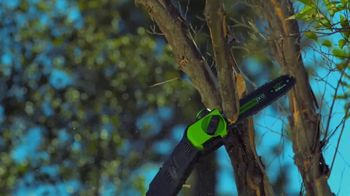 GreenWorks Pro 60V 10-Inch 9-Foot Pole Saw TV Spot, 'Ever-Evolving' - Thumbnail 4