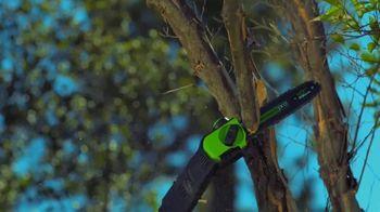 GreenWorks Pro 60V 10-Inch 9-Foot Pole Saw TV Spot, 'Ever-Evolving' - Thumbnail 4