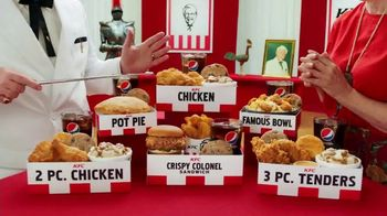 KFC $5 Fill Ups TV Spot, 'Stunning Variety: Crispy Colonel Sandwich'