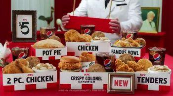 KFC $5 Fill Ups TV Spot, 'Stunning Variety: Crispy Colonel Sandwich' - Thumbnail 10