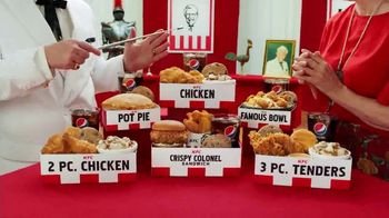 KFC $5 Fill Ups TV Spot, 'Stunning Variety: Crispy Colonel Sandwich' - Thumbnail 2