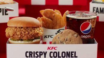 KFC $5 Fill Ups TV Spot, 'Stunning Variety: Crispy Colonel Sandwich' - Thumbnail 5