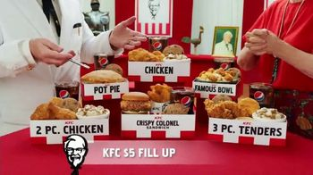 KFC $5 Fill Ups TV Spot, 'Stunning Variety: Crispy Colonel Sandwich' - Thumbnail 8