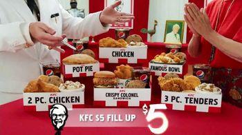 KFC $5 Fill Ups TV Spot, 'Stunning Variety: Crispy Colonel Sandwich' - Thumbnail 9