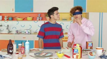 Pop-Tarts Splitz TV Spot, 'El reto' con Brent Rivera [Spanish] - 2762 commercial airings