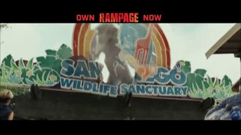 Rampage Home Entertainment TV Spot - Thumbnail 1
