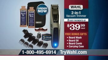 Wahl 2-in-1 Vacuum Trimmer TV Spot, 'Cleans Up After Itself' - Thumbnail 10