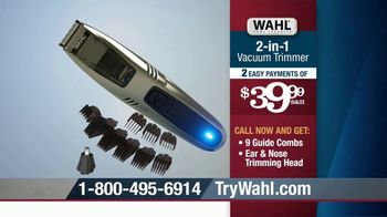 Wahl 2-in-1 Vacuum Trimmer TV Spot, 'Cleans Up After Itself' - Thumbnail 7