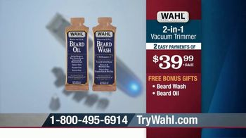 Wahl 2-in-1 Vacuum Trimmer TV Spot, 'Cleans Up After Itself' - Thumbnail 8