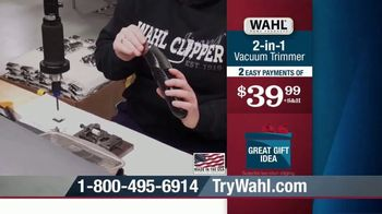 Wahl 2-in-1 Vacuum Trimmer TV Spot, 'Cleans Up After Itself' - Thumbnail 9
