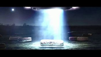 Subway Footlongs TV Spot, 'SUBconscious: UFO'