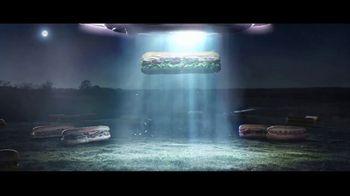 Subway Footlongs TV Spot, 'SUBconscious: UFO' - Thumbnail 3