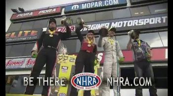 NHRA TV Spot, '2018 Mello Yello: Thrilling Races' - 4 commercial airings