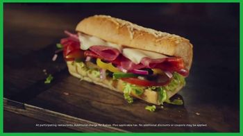 Subway Sub of the Day TV Spot, 'Different Every Day' - Thumbnail 8