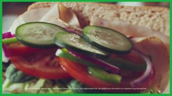Subway Sub of the Day TV Spot, 'Different Every Day' - Thumbnail 9