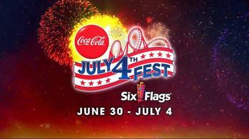 Six Flags July 4th Fest TV Spot, 'Thrilling'