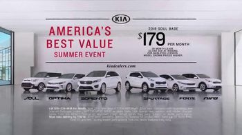 Kia America's Best Value Summer Event TV Spot, 'Soft Sell' [T2] - Thumbnail 7