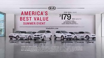 Kia America's Best Value Summer Event TV Spot, 'Soft Sell' [T2] - Thumbnail 8