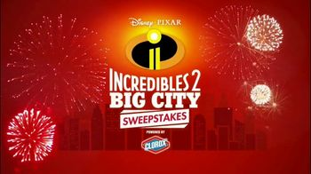 Disney Pixar Incredibles 2 Big City Sweepstakes TV Spot, 'Dream Getaway' - 42 commercial airings