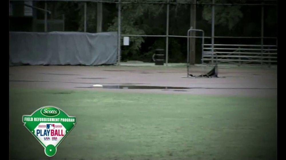 Scotts TV Commercial, 'Field Refurbishment Program: New Field' Feat. David Ross