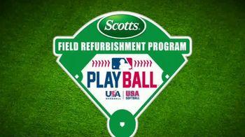Scotts TV Spot, 'Field Refurbishment Program: New Field' Feat. David Ross - Thumbnail 1