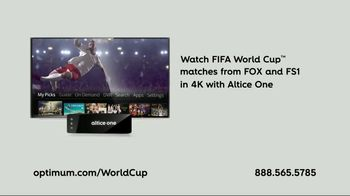 Optimum Altice One TV Spot, 'FIFA World Cup' Featuring Evander Holyfield - Thumbnail 10