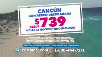 Costamar Travel TV Spot, 'Precios increíbles: Cancún y Madrid' [Spanish] - Thumbnail 2