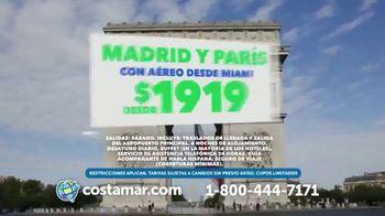 Costamar Travel TV Spot, 'Precios increíbles: Cancún y Madrid' [Spanish] - Thumbnail 3